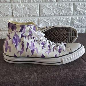 Purple camo Hi Tops